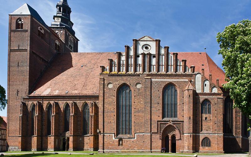 Tangermünde, Stephanskirche, Ansicht von Süden
