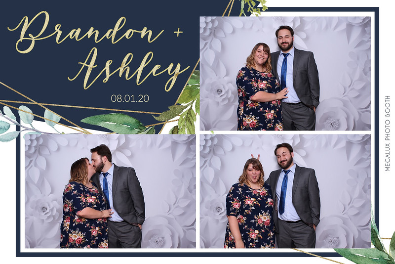 Brandon & Ashley's Wedding 08-01-20
