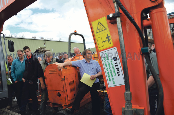Clitheroe machinery sale 25th June 2016