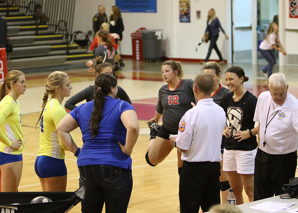 SNHS Volleyball vs NW - Sectional 2015