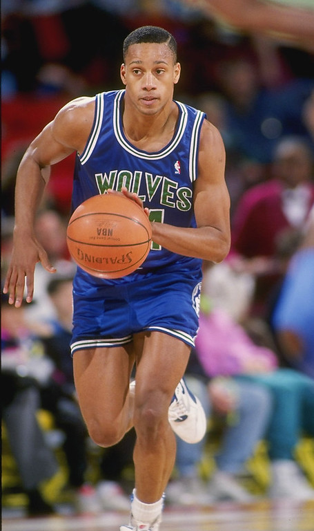 . 6. 1989: No. 10 Pooh Richardson, No. 34 Gary Leonard, No. 38 Doug West.    Richardson was the franchise�s first draft selection. For three seasons in Minnesota, he averaged 15 points and eight assists while starting 212 games. Still, Minnesota could have drafted Nick Anderson, Mookie Blaylock, Tim Hardaway or Shawn Kemp, all of whom were selected after Richardson in the first round. West was a quality second-round pick. He averaged 10 points and started 371 games in nine seasons with the Wolves. Leonard, who was drafted two picks ahead of future Portland star Clifford Robinson, scored 32 points in 22 games for the Wolves. Tim de Frisco / Allsport