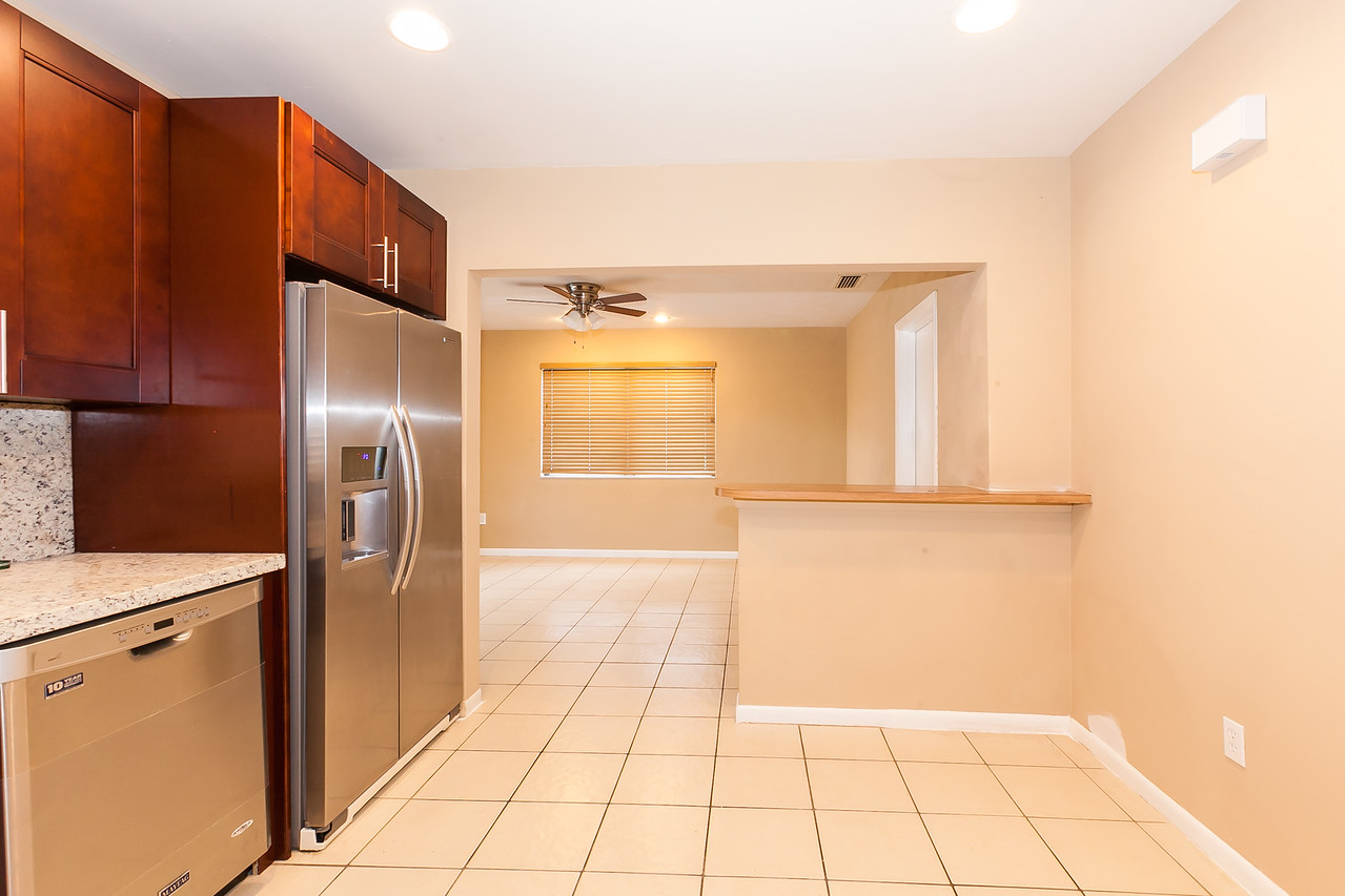 kitchen/ family room