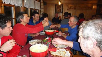 17.02.2012 - St. Anton Schneeschuhlaufen Männerriege