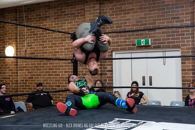Wrestling Go! - Alex Irvine's Big Day Out 07.07.2019