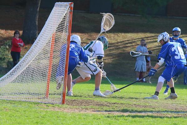 WUHS Boys Lacrosse vs Otter Valley, 2017