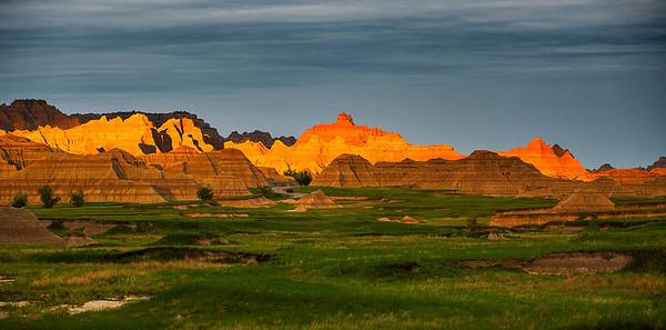 Badlands National Park, South Dakota, 南达科他州,  恶地国家公园