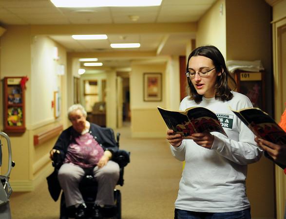 Nursing Home Caroling