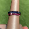 Art Deco Sapphire and Ruby Matched Bands, by Tiffany & Co 0