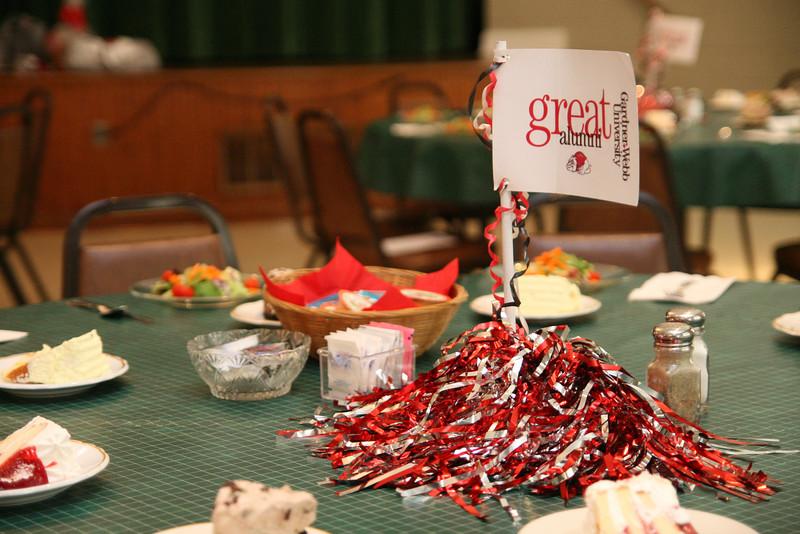 Gardner-Webb's Alumni Association hosts their Annual Celebration Dinner at First Baptist Church in Morganton.