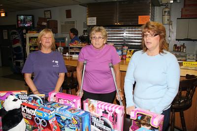 Toys For Tots Donation, Cypress Lanes, Lehighton (10-26-2011)