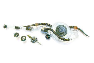 OZ Smoke Glass Art Pieces