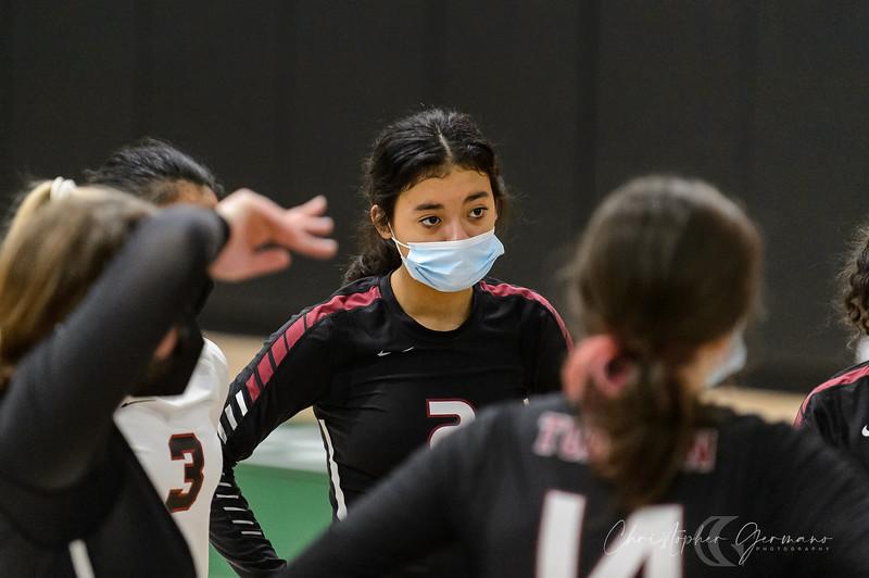 Tigard HS Girls Volleyball vs Tualatin HS