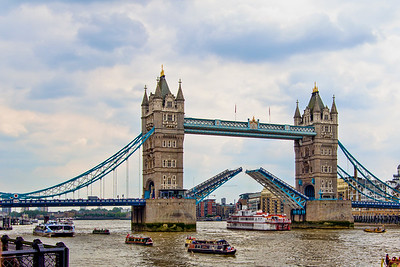 Tower Bridge Opens for Business