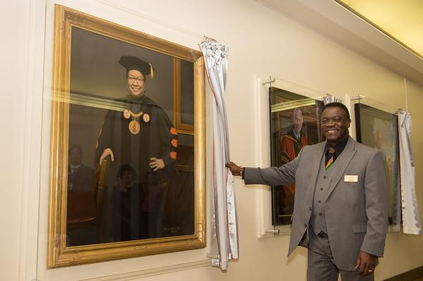 10/19/15 Presidential Portrait Unveiling Ceremony