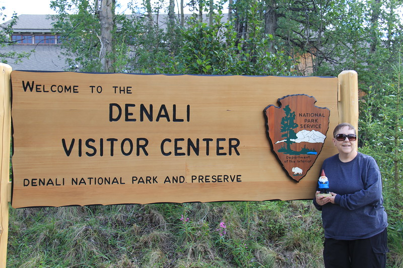 20160709-102 - Gnomie at Denali Visitor Center.JPG