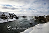 Iceland: Goðafoss in the snow<br /> <br /> © Claire McAdams Photography 2010