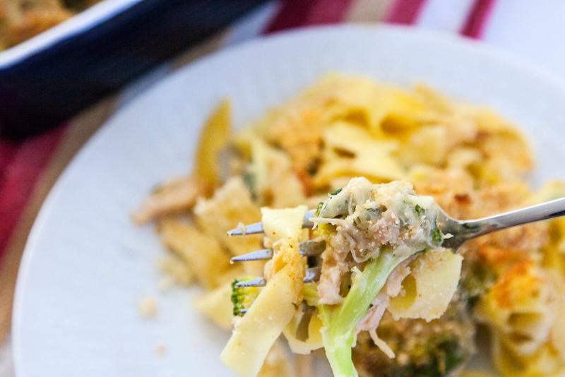 Pantry Challenge: Cheesy Chicken Broccoli Casserole