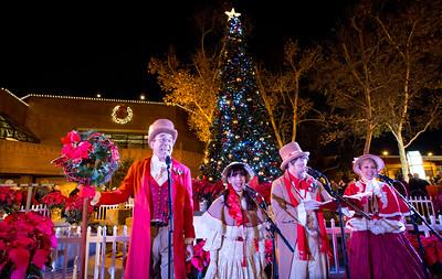 Holiday Tree Lighting - December 2, 2016