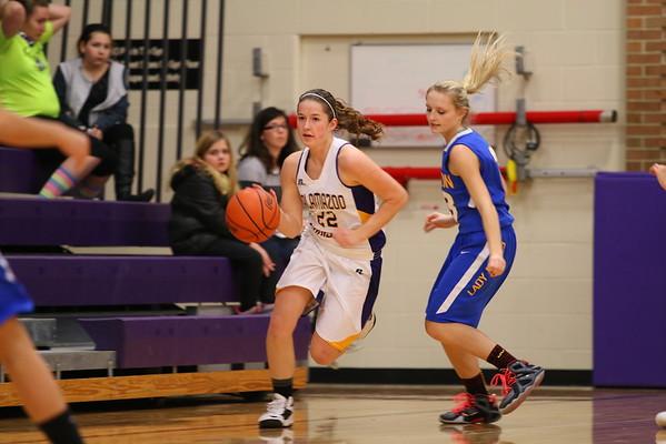 Basketball  Girls vs. Lawton - 1/29/16 - KCHS
