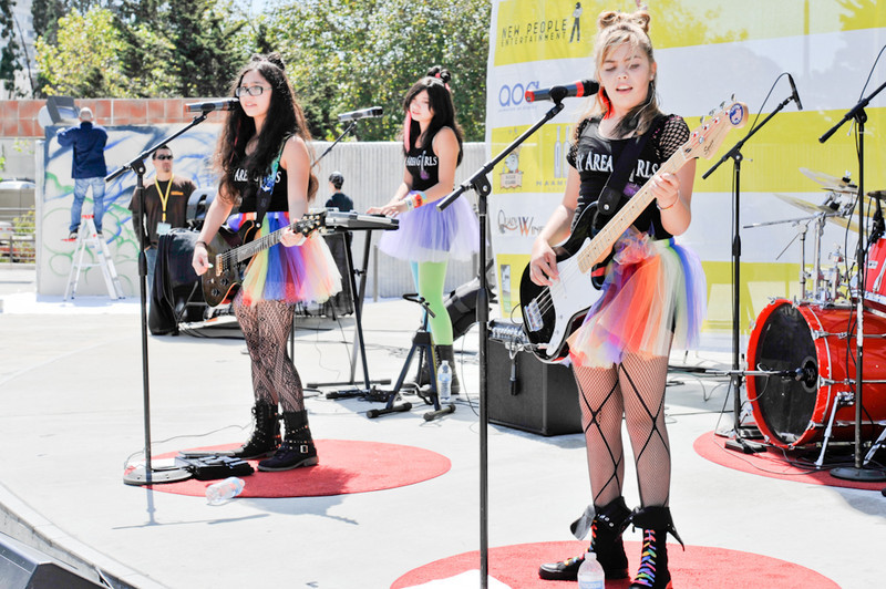 Bay Area Girls 2011 J-POP Summit Festival on the Pagoda Stage