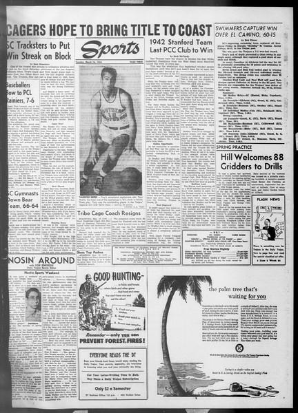 Daily Trojan, Vol. 45, No. 94, March 16, 1954