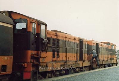 CIE Class 121 1960 GM La Grange USA Engine GM 8-567CR