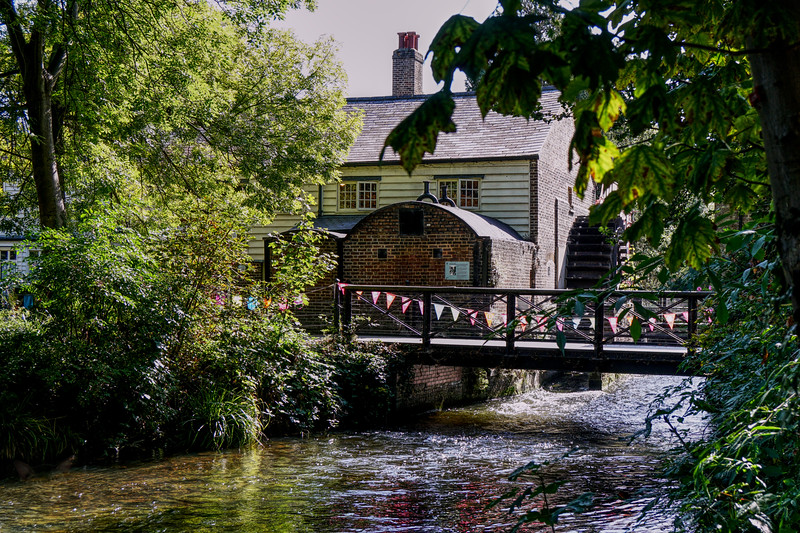 Morden Hall Park - Watermill on the Wandle