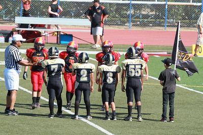 2010-09-25 Thunder Youth Football vs. Oakdale Stampede
