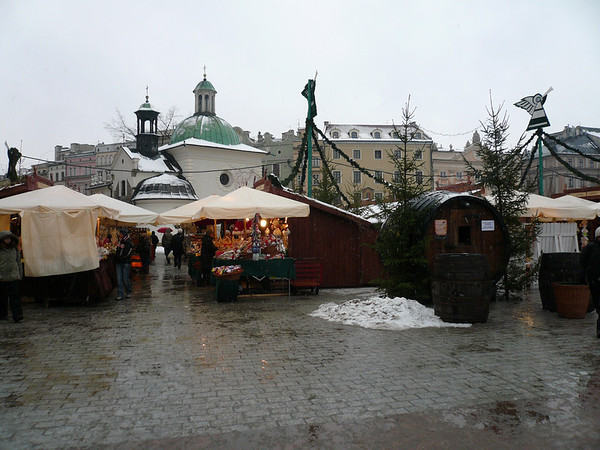 Krakow Poland,Xmas 2007.
