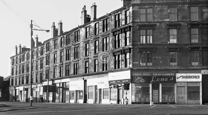Ballater St at Gorbals Cross.  
