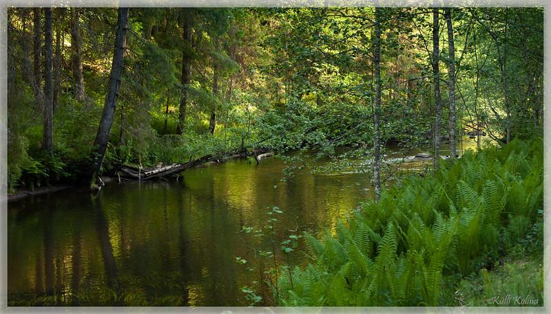 Kevad Ahja jõel