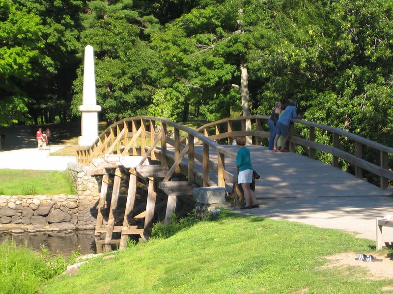 The Old North Bridge - Concord
