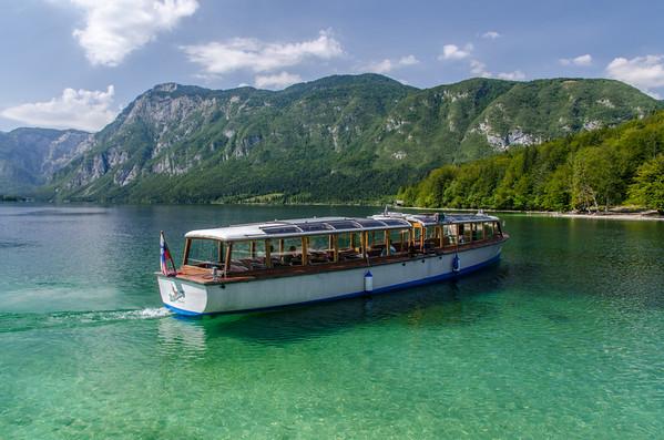 Lake Bohinj, Slovenia, August 2012