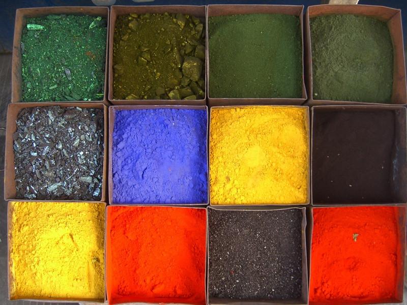 Paint Powders - Kashgar, China