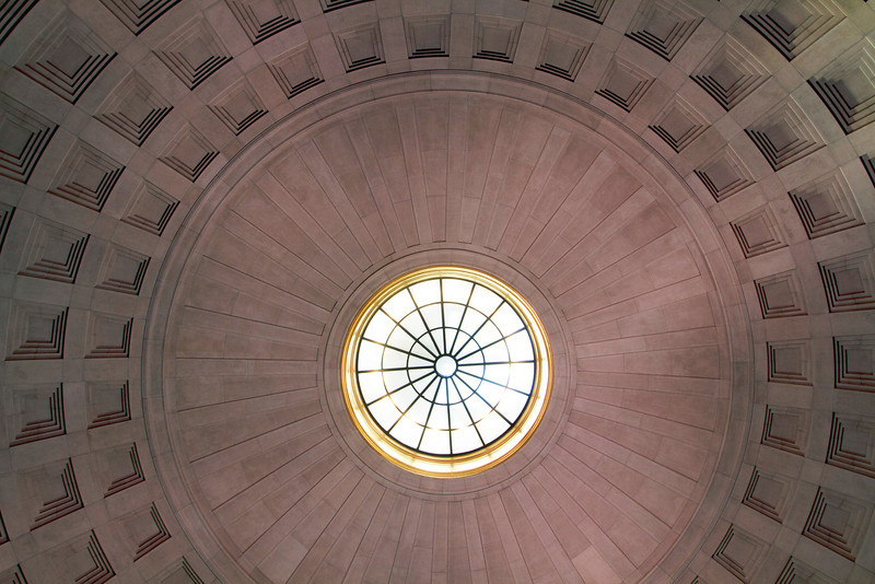 Oculus (like that of the Roman Pantheon): Franklin Institute