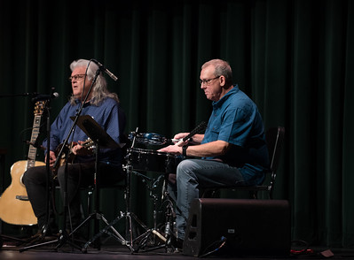 Ricky Skaggs and Gordon Kennedy in Chapel