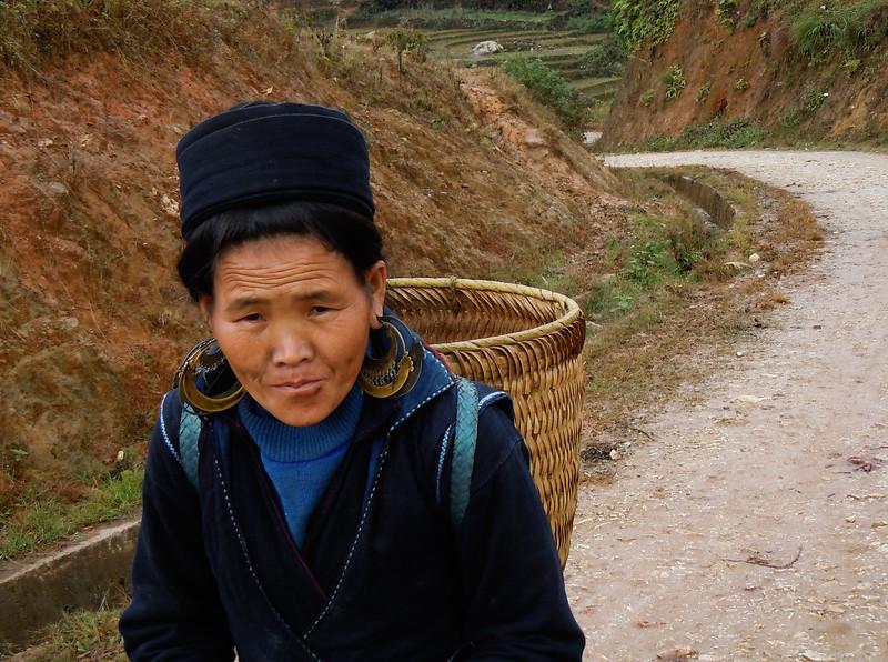 Local trader, Sa Pa, Vietnam