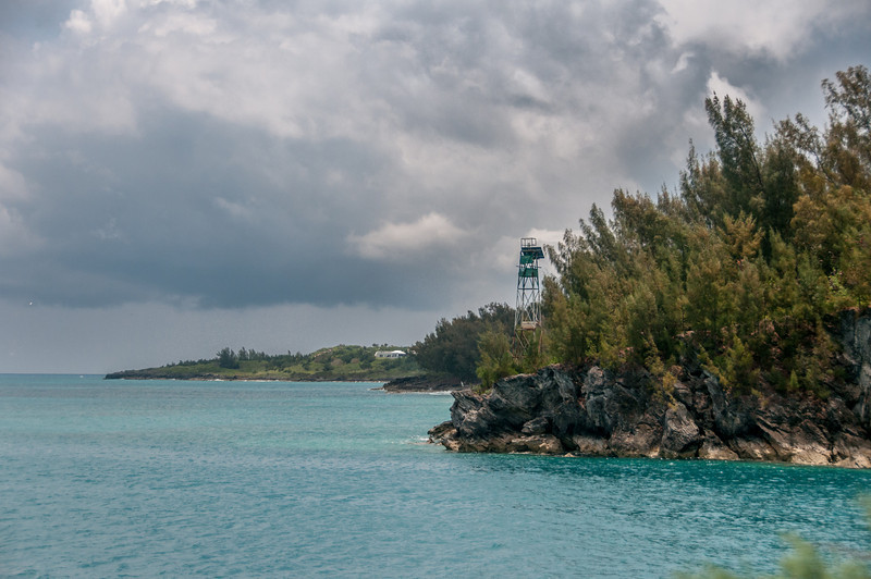 The beach at St. George's Island, Bermuda