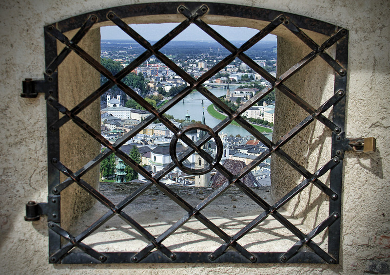 from the fortress, Salzburg