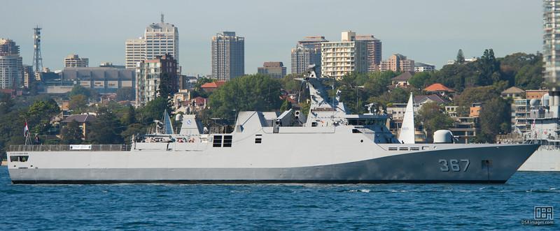Indonesian Navy Ship, Sultan Iskandar Muda (SIM)-367