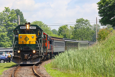 Berkshire Scenic Railway MBRE Charter, 6-18-11