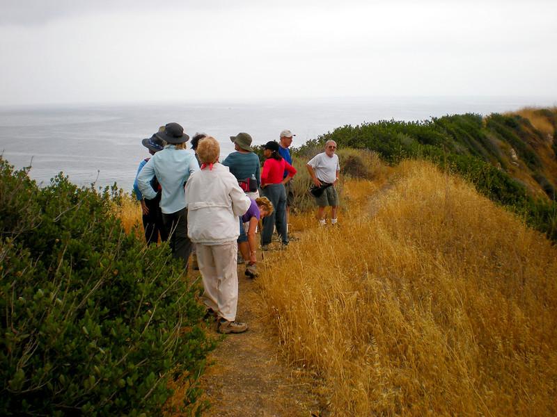 The ridge of Inspiration Point.