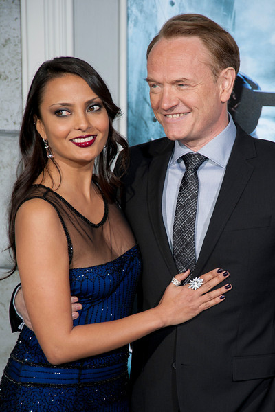 WESTWOOD, CA: Allegra Riggio and actor Jared Harris arrive at the premiere of Warner Bros. Pictures' 'Sherlock Holmes: A Game Of Shadows' held at the Regency Village Theatre in Westwood, California. Photo taken on Tuesday, December 6, 2011 by Tom Sorensen/Moovieboy Pictures.