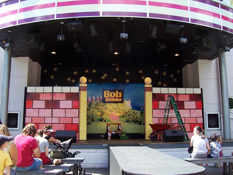 The Bob the Builder show set.