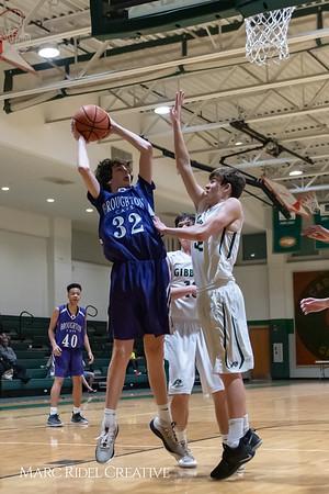 Broughton JV boys basketball vs Cardinal Gibbons. February 7, 2019. 750_3282