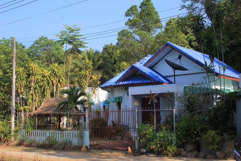 House - tea sala on a left