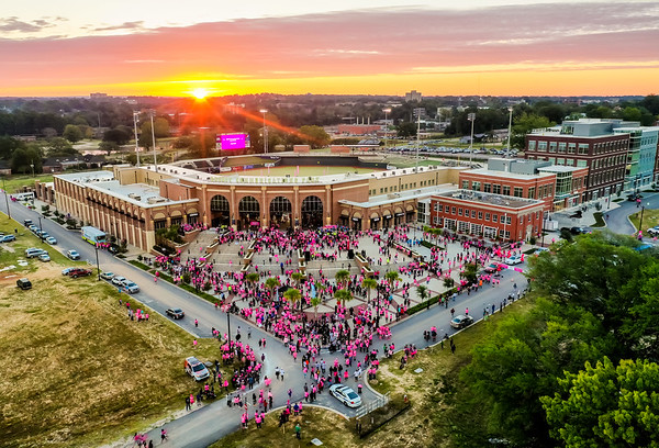 2018 Walk for Life and Famously Hot Pink Half Marathon, 5K + 10K