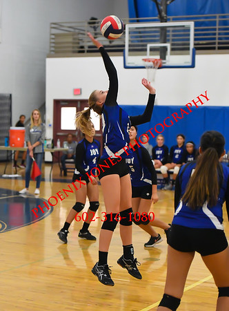 10-5-17 - Scottsdale Christian Academy @ Joy Christian - Volleyball Match
