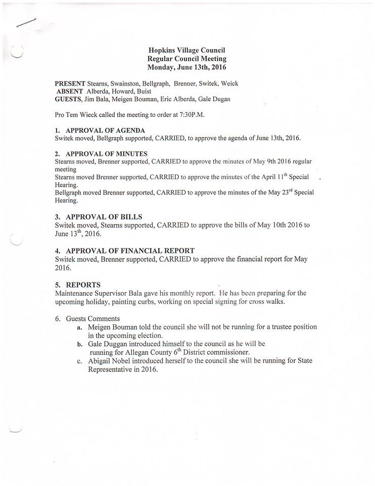 June 2016 Meeting Minutes pg1