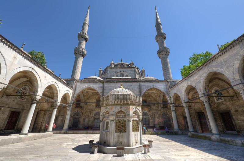 Enhanced photo of Hagia Sophia in Istanbul, Turkey